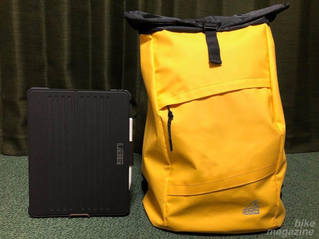 ワークマン イージスメッセンジャーバッグ iPadとサイズ比較