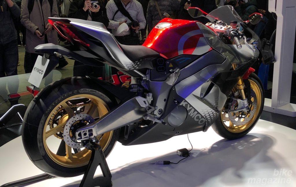 KYMCO supernal 電動バイク