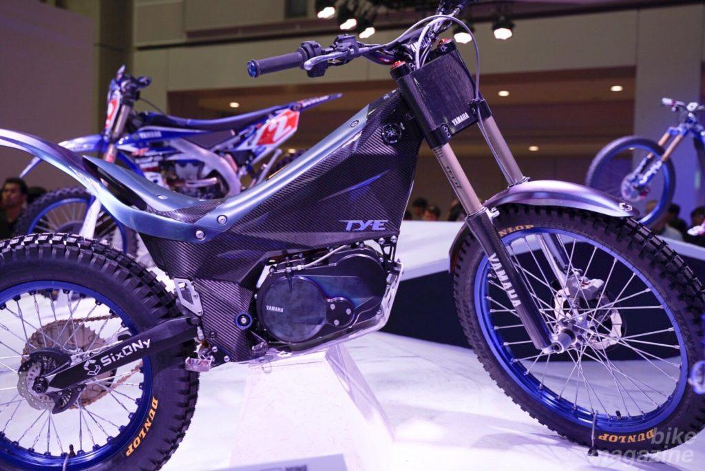 Yamaha オフロード電動バイク
