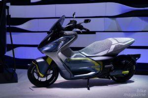 ヤマハ Eバイクスクーター2